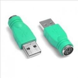 ADAPTADOR PS-2 HEMBRA USB A...