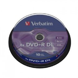 DVD+R VERBATIM DOUBLE LAYER...